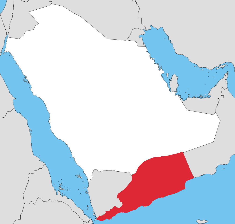 Map 'South Arabia'