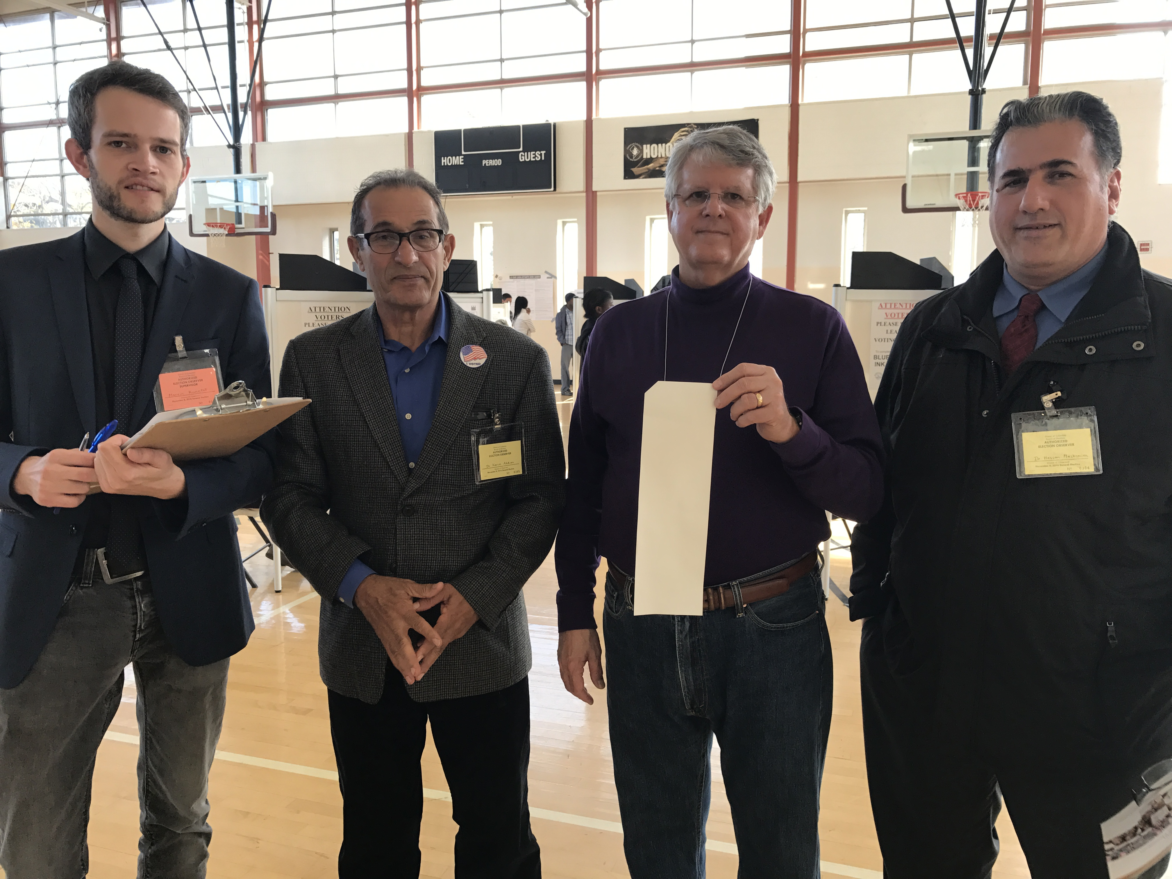 UNPO Election Observers and Precinct Captain