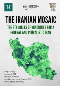 UNPO and Hudson Institute Co-Organise Conference on National Minorities and Federalism in Iran